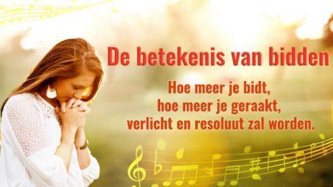 Kerkmuziek 'De betekenis van bidden' Nederlands