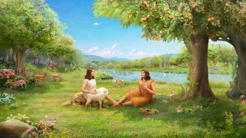God schept Eva
