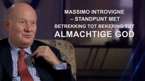 Massimo Introvigne – standpunt met betrekking tot bekering tot Almachtige God