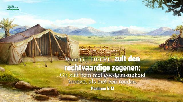 Psalmen 5:13 – Dagelijks evangelie