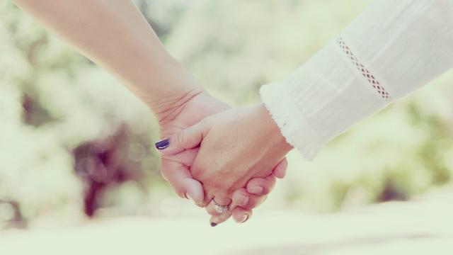 Een heerlijk, gelukkig huwelijk