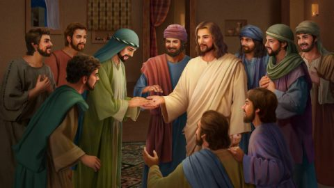 Waarom, na de opstanding van de Heer Jezus, verscheen Hij 40 dagen aan de mens?