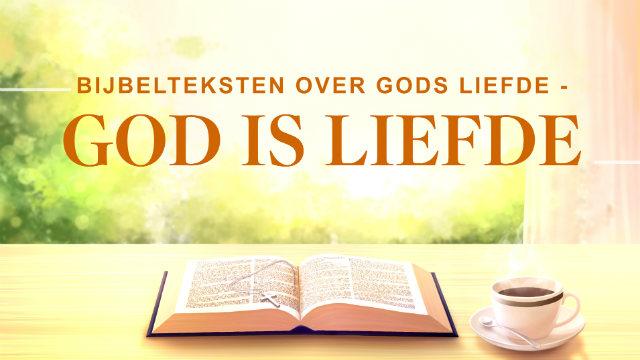 Bijbelteksten over Gods liefde – God is liefde