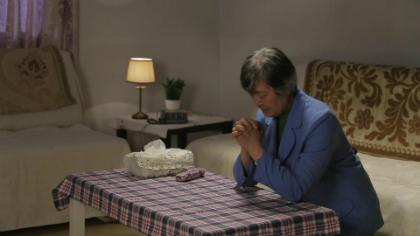 De hele nacht bad ze tot God om haar hart te kalmeren