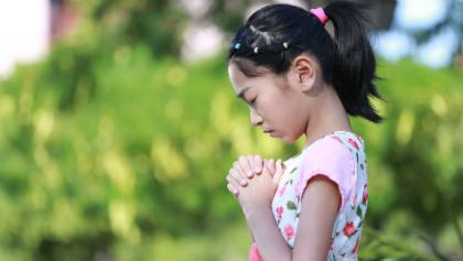 een 6-jarig meisje gebed