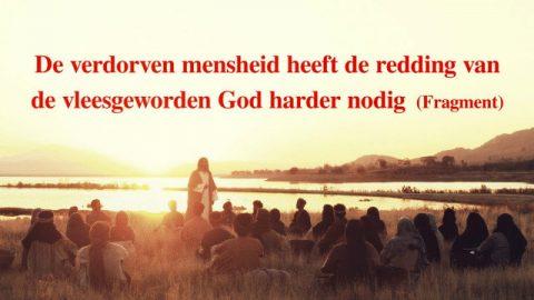 'De verdorven mensheid heeft de redding van de vleesgeworden God harder nodig' (Fragment I)