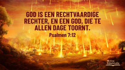 Bijbeltekst van de dag – Psalmen 7:12