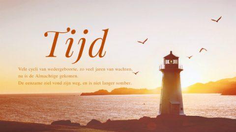 Christelijke muziek 'Tijd' (Nederlands)