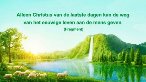 Een lezing van de woorden van God 'Alleen Christus van de laatste dagen kan de weg van het eeuwige leven aan de mens geven' (Fragment I)