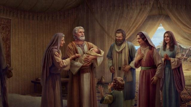 God belooft Abraham een zoon te geven
