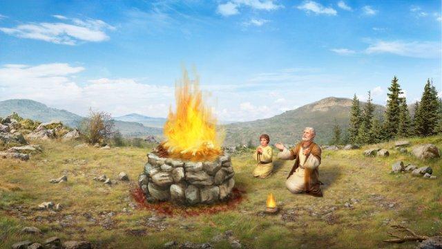 Bijbelse figuur Abraham - Gods zegen voor Abraham