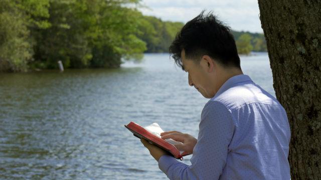 heilige teksten te lezen