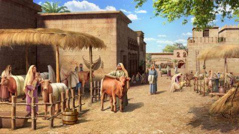 God ziet het oprechte berouw diep in de harten van de Ninevieten