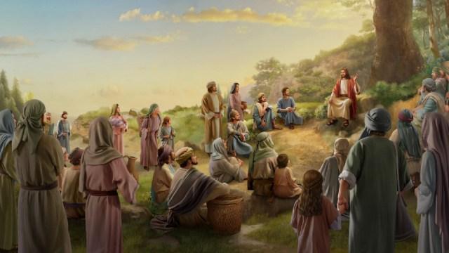 De Bergrede De gelijkenissen van de Heer Jezus De geboden