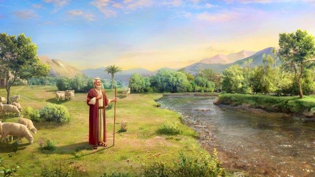 Bijbelse figuur Job - De prijs door Job tijdens zijn leven beleefd