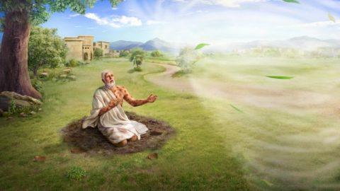 Jobs geloof in God wankelt niet, omdat God voor hem verborgen is