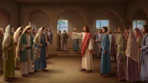 De berisping van Jezus aan de farizeeën
