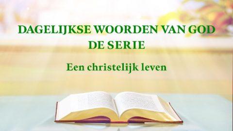 Dagelijkse woorden van God 'Gods werk, Gods gezindheid en God Zelf III'(Fragment IV)