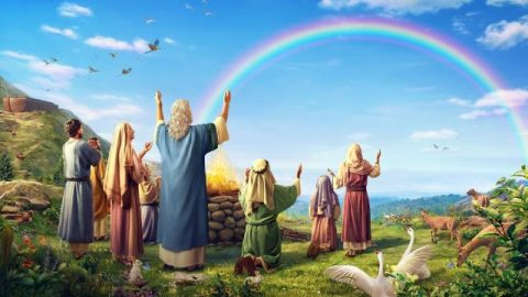 God gebruikt Zijn woorden om een verbond met de mens tot stand te brengen