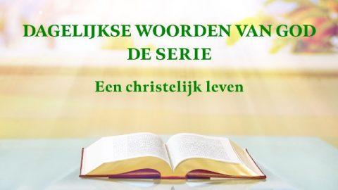 Dagelijkse woorden van God 'Gods werk, Gods gezindheid en God Zelf III'(Fragment XVI)