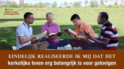 Eindelijk realiseerde ik mij dat het kerkelijke leven erg belangrijk is voor gelovigen.