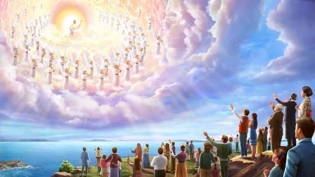 De belofte van de Heer luidt dat hij zal wederkeren om ons mee te nemen naar het hemelse koninkrijk, maar toch zeggen jullie dat de Heer al is geïncarneerd om het oordeelswerk in de laatste dagen te doen. De Bijbel voorspelt duidelijk dat de Heer op wolken zal neerdalen met kracht en grote glorie. Dat is iets heel anders dan wat jullie hebben verklaard, namelijk dat de Heer al is geïncarneerd en heimelijk onder de mensen is neergedaald.